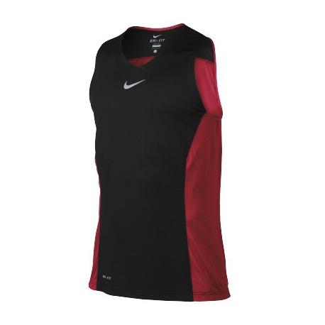 Nike Title Hybrid Tank Noir/Rouge