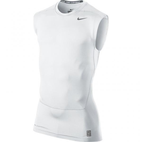 Nike Pro Combat Core SL Top Blanc