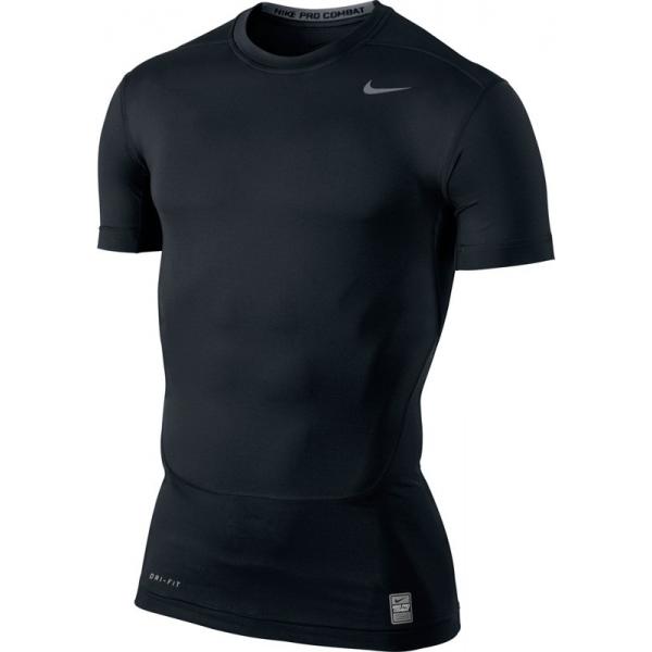 Nike Pro Combat Core SS Top Noir