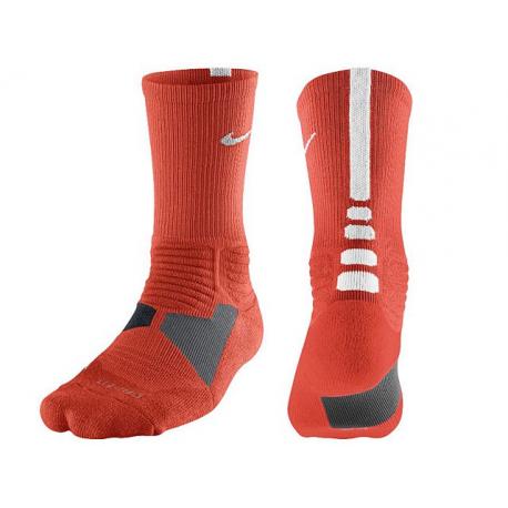 Nike Chaussettes Hyperelite Orange/Blanc