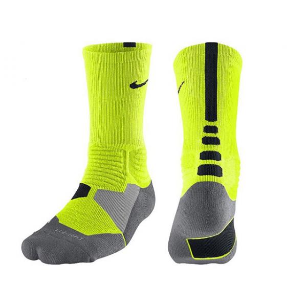 Nike Chaussettes Hyperelite Jaune Fluo/Noir