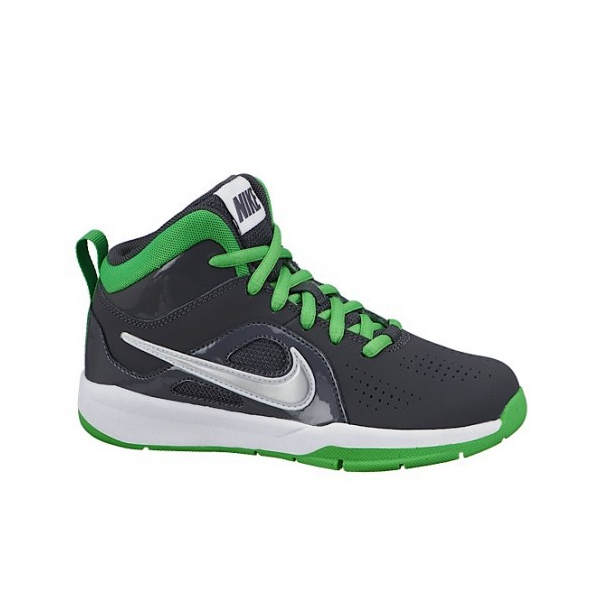Nike Team Hustle D6 (PS/GS) Gris/vert