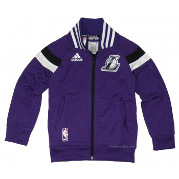 Adidas Winter Hoops Jacket Lakers Junior