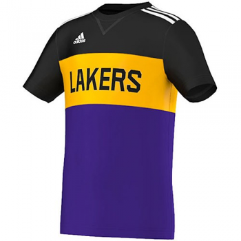 Adidas Y Winter Hoops Tee Lakers Junior