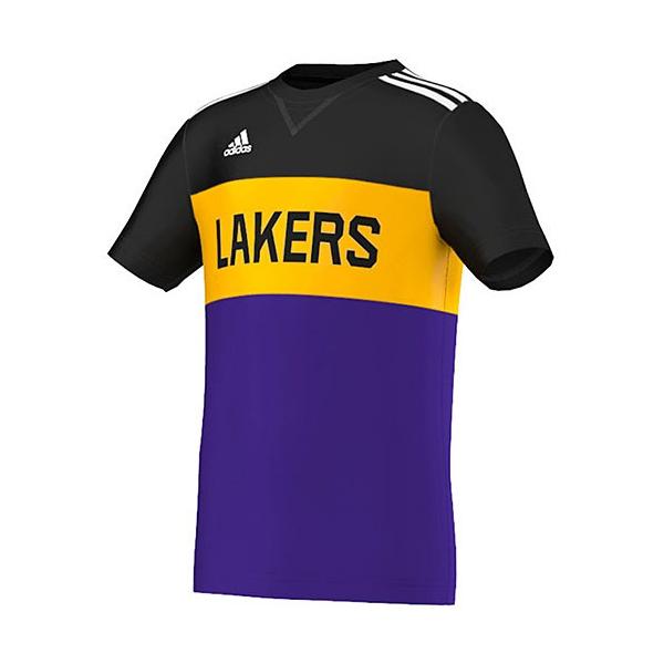 Adidas Y Winter Hoops Tee Lakers Junior