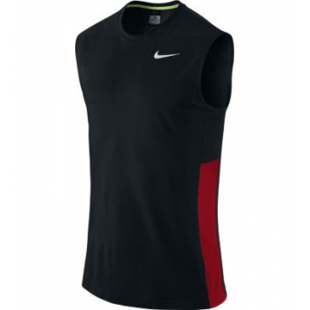 Nike Crossover Sleeveless Noir/Rouge