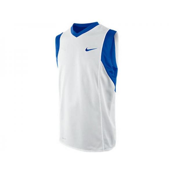 Nike Essential Reversible jersey JR Bleu/Blanc
