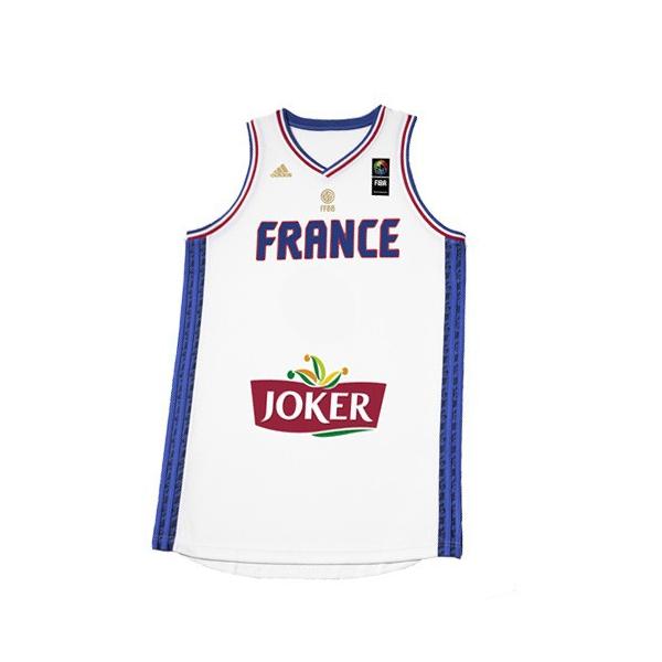 Adidas Maillot Equipe de France Blanc