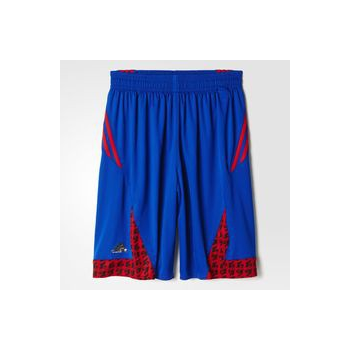 Adidas Short FFBB Bleu/Rouge