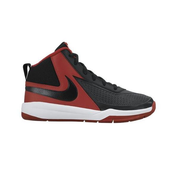 Nike Team Hustle D7 (PS/GS) Noir/Rouge