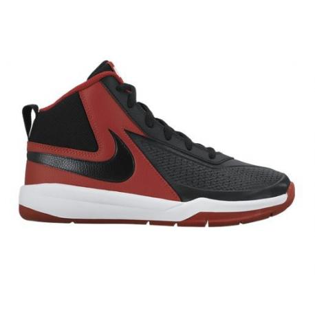 Nike Team Hustle D7 (GS) Noir/Rouge