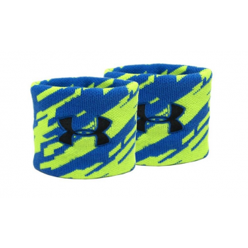 UA Jacquard Wristband jaune/bleu
