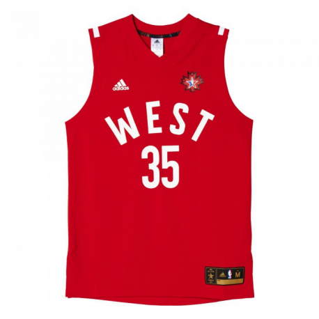 Adidas Maillot All Star 2016 WEST Kevin Durant