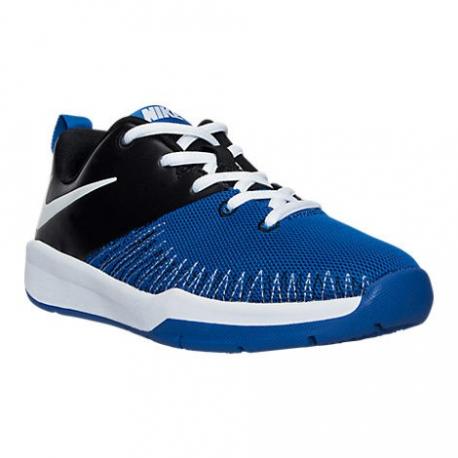 Nike Team Hustle D7 Low Bleu (GS)
