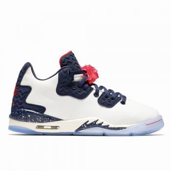 Air Jordan Spike Forty Low (BG) Blanc