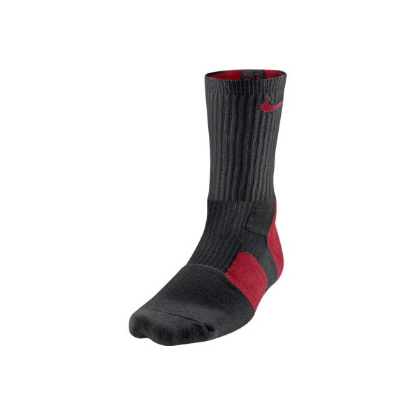 Nike Elite 2.0 Basketball Crew Black/Red