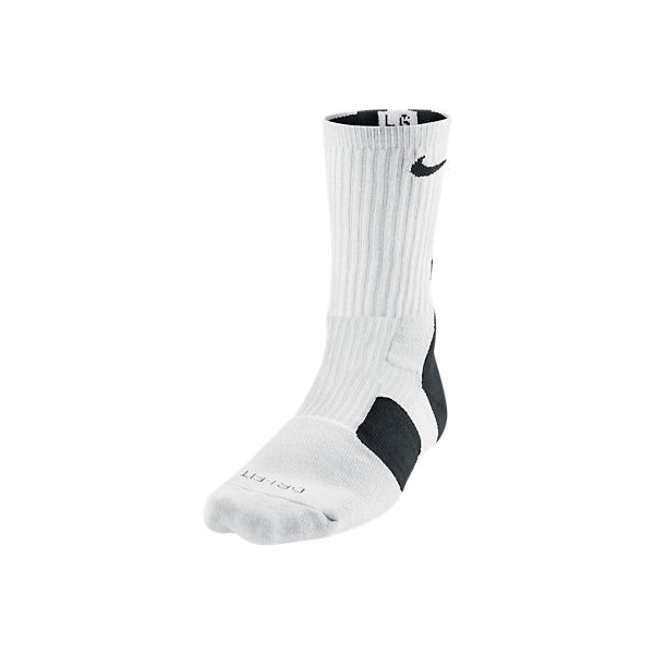 Nike Elite 2.0 Basketball Crew white/black