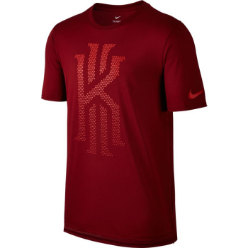 Nike T-Shirt Kyrie 3 Dry Rouge