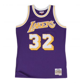 SWINGMAN NBA MAGIC JOHNSON LAKERS VIOLET MITCHELL&NESS