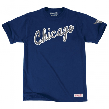 Mitchell & Ness T-shirt Chicago Bulls Bleu