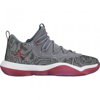 Jordan Super.fly 2017 Low grey/red
