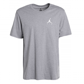 Jordan T-SHIRT JUMPMAN AIR EMBRD Gris