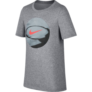 Nike T-Shirt Enfant Dry Photoball Gris