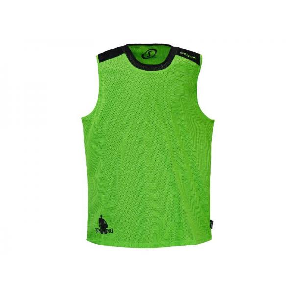 Essential reversible shirt vert/noir
