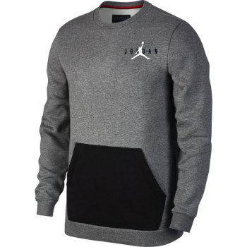 Jordan Jumpman Air Fleece Crew Gris