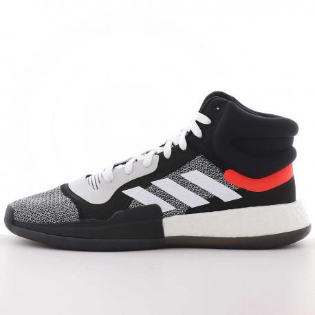 Adidas Marquee Boost Blanc/Noir/Rouge