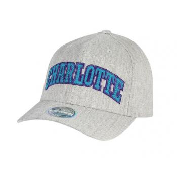 Casquette Jersey logo Charlotte Hornets Gris