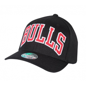 Casquette Chicago Bulls M&N Jersey logo Noir