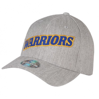 Casquette Golden State Warriors M&N Jersey logo Gris