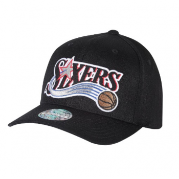 Casquette Philadelphie 76ers M&N Jersey logo Gris