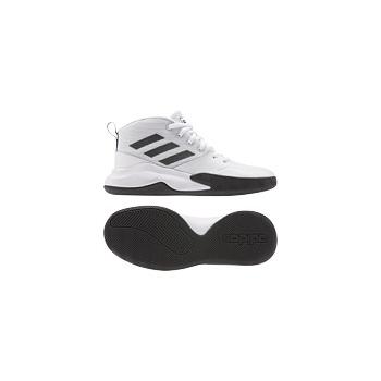 Adidas Ownthegame K Wide Blanc/Noir