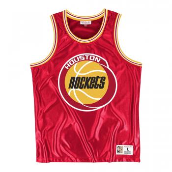 NBA Dazzle Tank Top Houston Rockets Mitchell&Ness