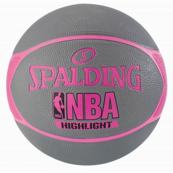 Spalding Ballon 4her Gris/Rose