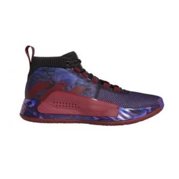 Adidas DAME 5 Noir/Violet/Rouge