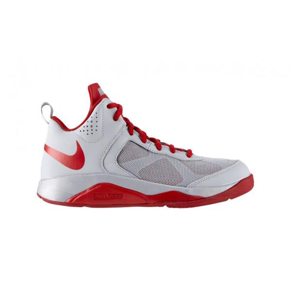 Nike Dual Fusion BB (GS) Gris/Rouge