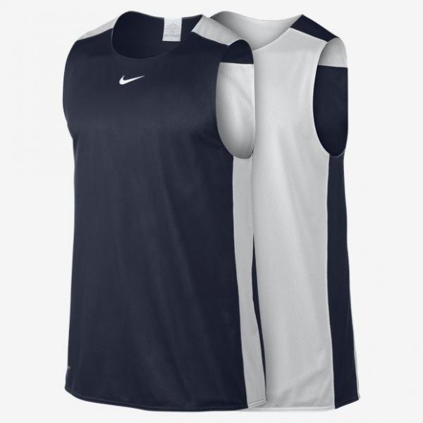 Nike League Reversible Tank Blanc-Noir