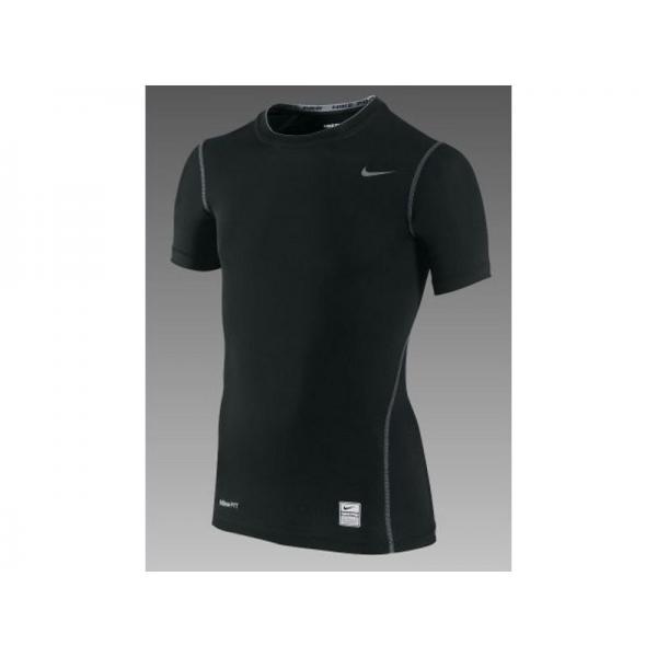 Nike pro manches courtes noir Junior