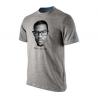 Nike Tee-Shirt KD IS NOT A NERD Gris