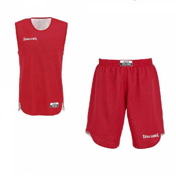 Spalding Kit Reversible Jr rouge