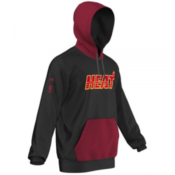 Adidas NBA Fleece Hoody Miami HEAT