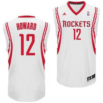 Adidas Maillot Replica Rockets Dwight HOWARD Blanc
