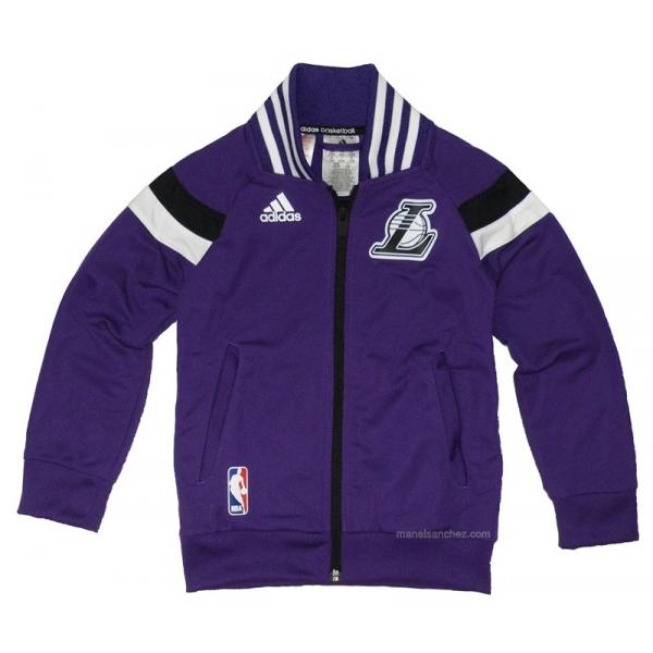 Adidas Winter Hoops Jacket Lakers Junior