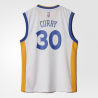 Adidas Maillot Replica Warriors Stephen Curry Blanc