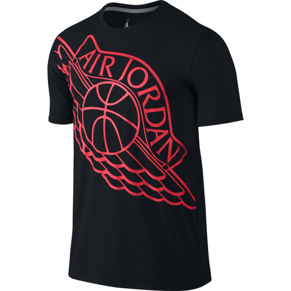 Air Jordan Tee-shirt Wingspan Noir