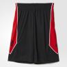 Adidas Short Rose 773 Noir/Rouge