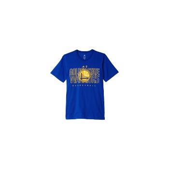Adidas Tee-Shirt Homme Golden State Warriors Bleu 3